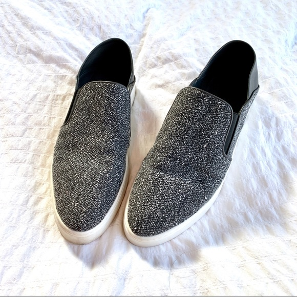 Vince Shoes | Vince Tweed And Leather